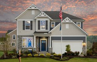 Continental - Heathers at Golf Village North: Powell, Ohio - Pulte Homes