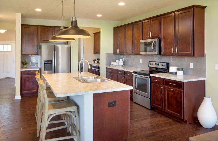 Kitchen featured in the Continental By Pulte Homes in Columbus, OH