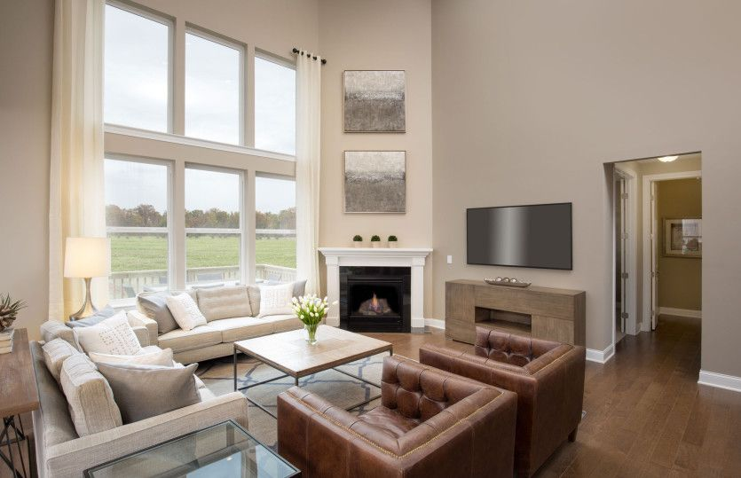 Living Area featured in the Melrose By Pulte Homes in Columbus, OH