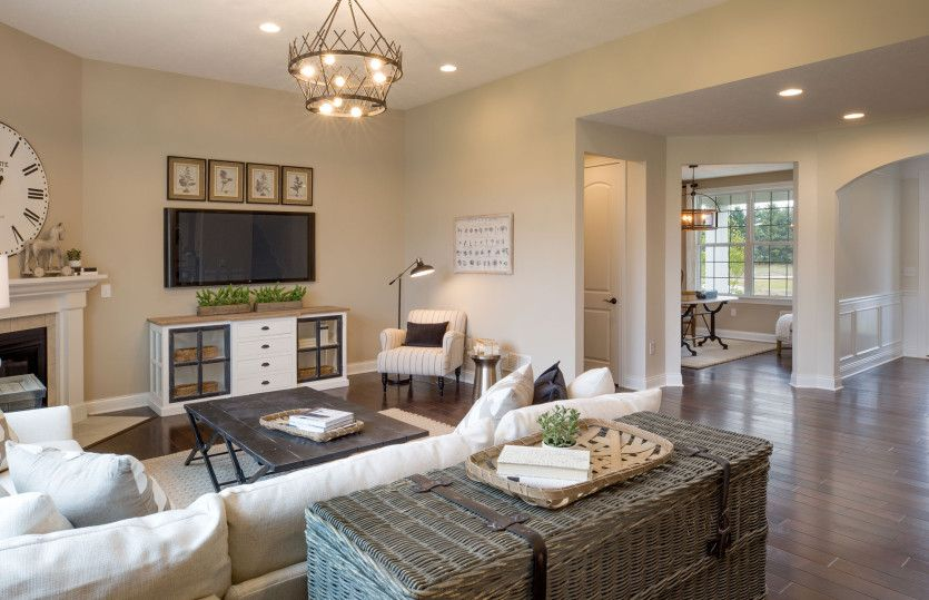 Living Area featured in the Maple Valley By Pulte Homes in Columbus, OH