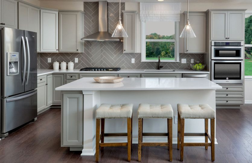 Kitchen featured in the Abbeyville By Pulte Homes in Columbus, OH