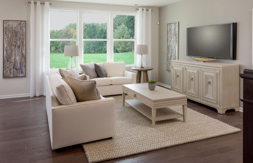 Living Area featured in the Abbeyville By Pulte Homes in Columbus, OH
