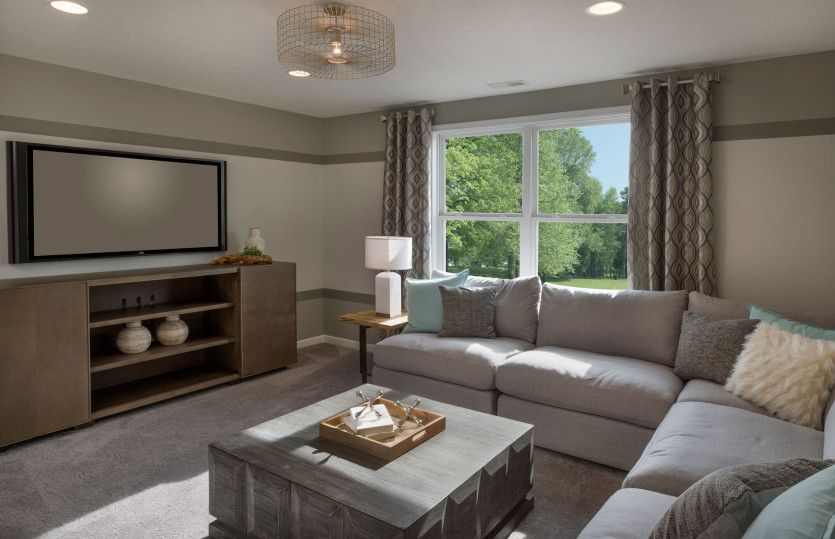 Living Area featured in the Abbeyville By Pulte Homes in Cleveland, OH