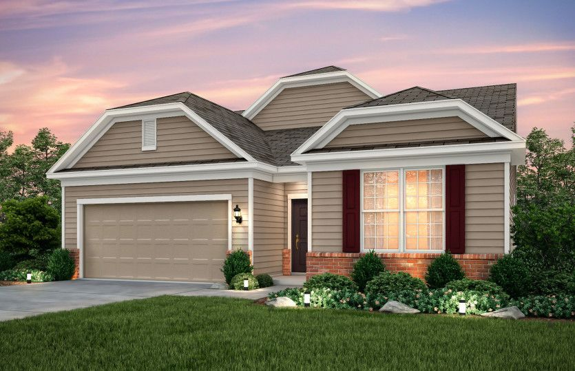 Exterior featured in the Ascend By Pulte Homes in Columbus, OH