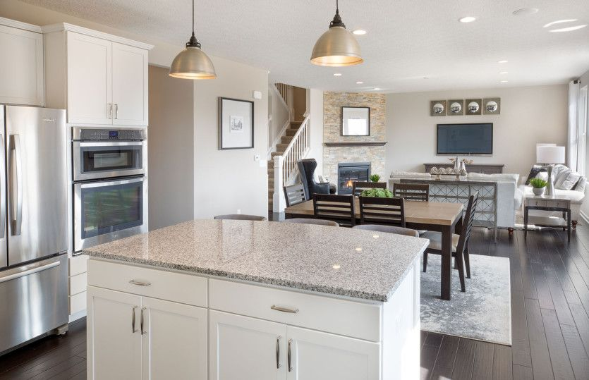 Kitchen featured in the Riverton By Pulte Homes in Columbus, OH