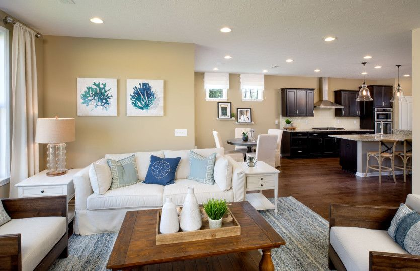 Living Area featured in the Castle Rock By Pulte Homes in Cleveland, OH