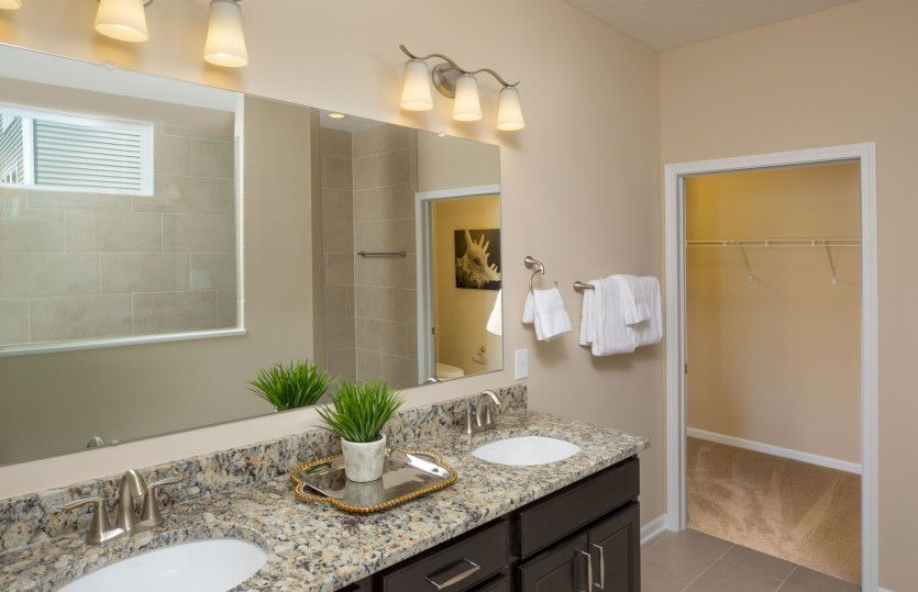 Bathroom featured in the Castle Rock By Pulte Homes in Cleveland, OH