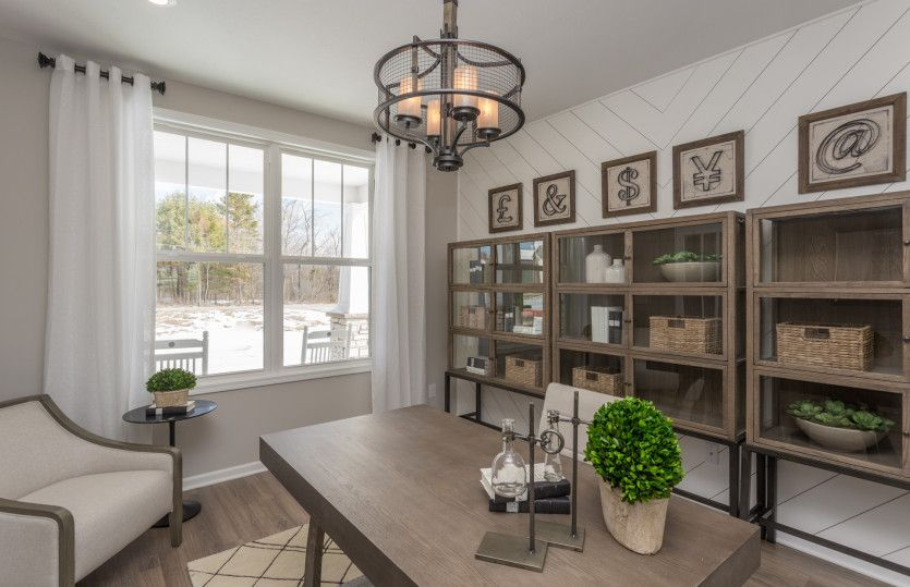 Living Area featured in the Allison II By Pulte Homes in Cleveland, OH
