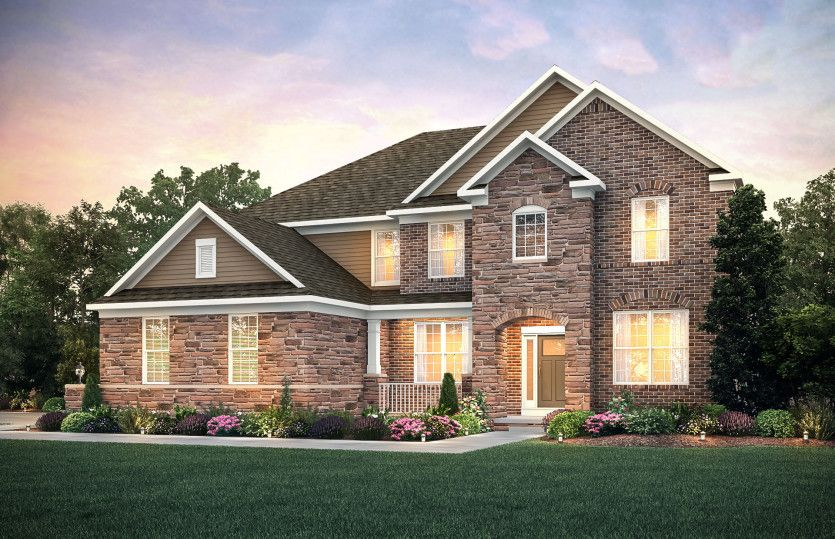 Exterior featured in the Deer Valley By Pulte Homes in Cleveland, OH