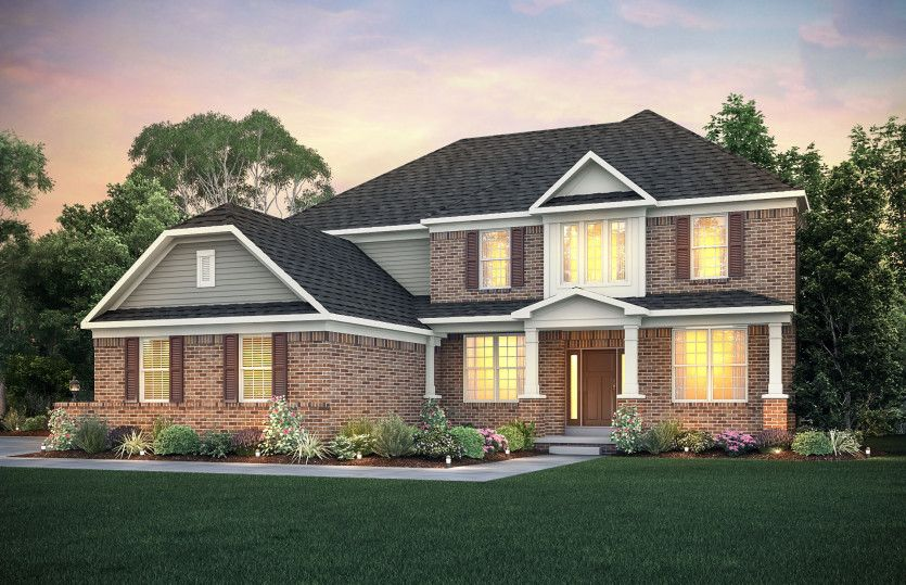 Exterior featured in the Woodside By Pulte Homes in Cleveland, OH