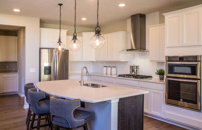 Kitchen featured in the Woodside By Pulte Homes in Cleveland, OH