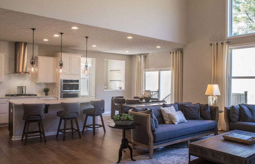 Living Area featured in the Woodside By Pulte Homes in Akron, OH