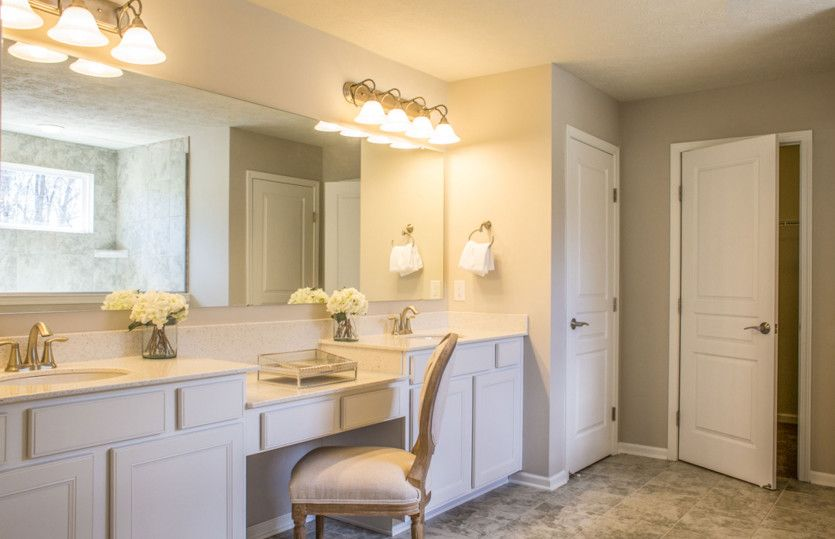 Bathroom featured in the Woodside By Pulte Homes in Akron, OH