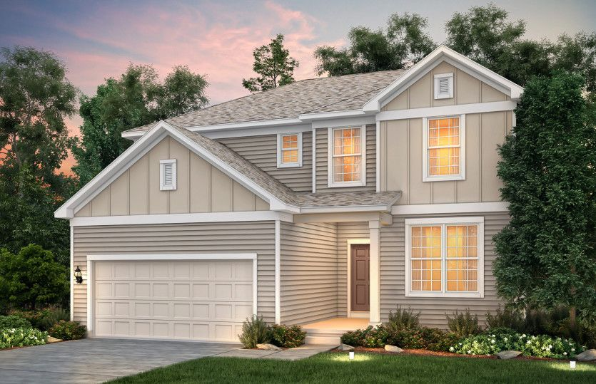 Exterior featured in the Newberry By Pulte Homes in Cleveland, OH