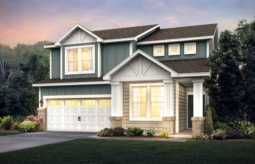 Exterior featured in the Boardwalk By Pulte Homes in Cleveland, OH