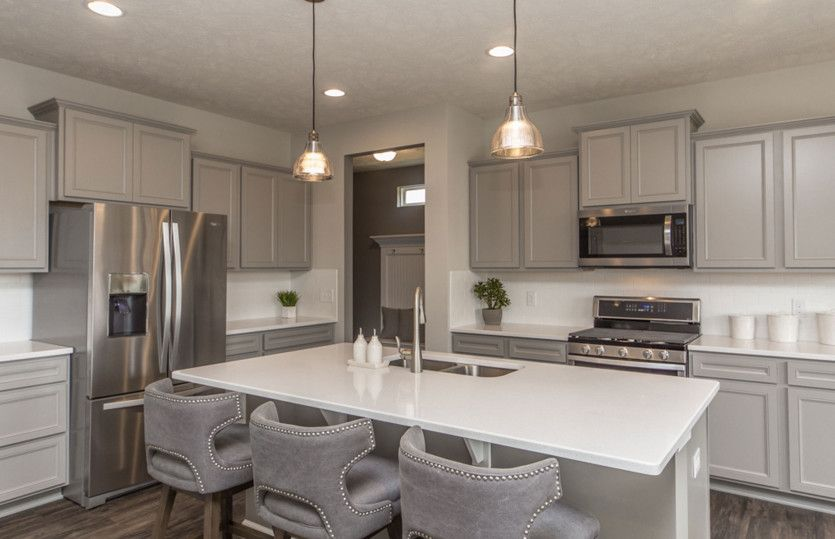 Kitchen featured in the Boardwalk By Pulte Homes in Cleveland, OH