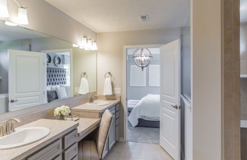 Bathroom featured in the Boardwalk By Pulte Homes in Cleveland, OH