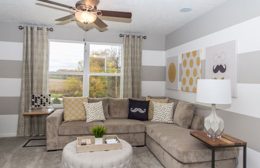 Living Area featured in the Boardwalk By Pulte Homes in Cleveland, OH