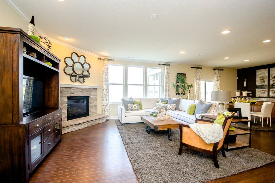 Living Area featured in the Amberwood By Pulte Homes in Cleveland, OH