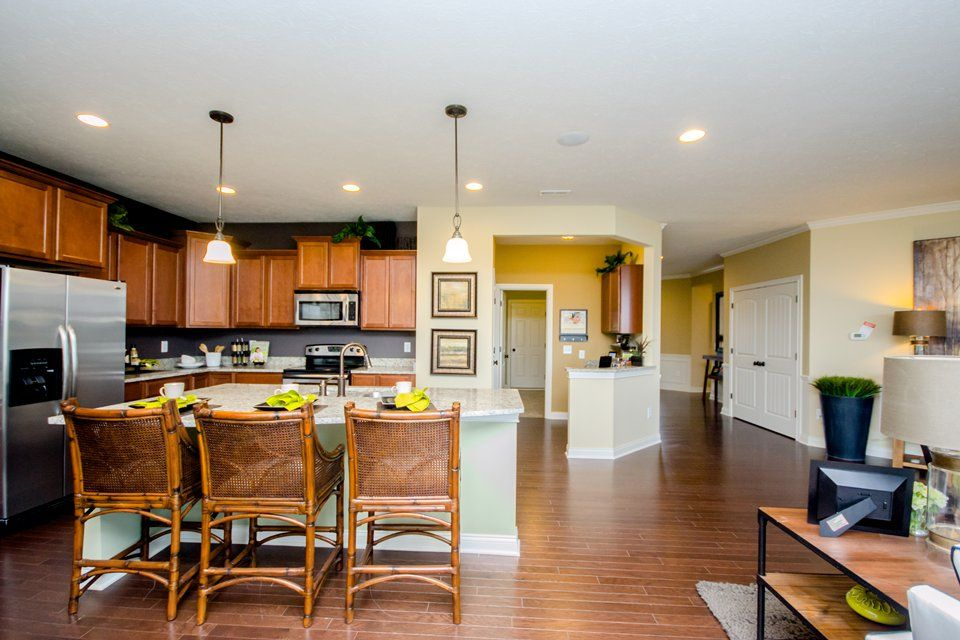 Kitchen featured in the Amberwood By Pulte Homes in Cleveland, OH