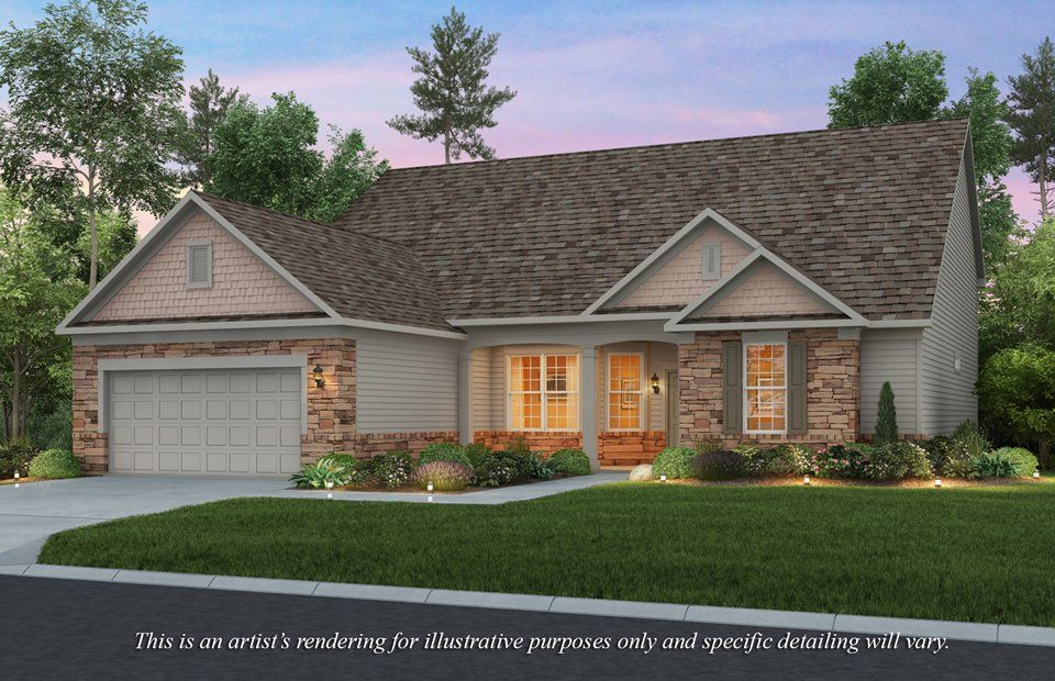 Exterior featured in the Napa Valley By Pulte Homes in Akron, OH