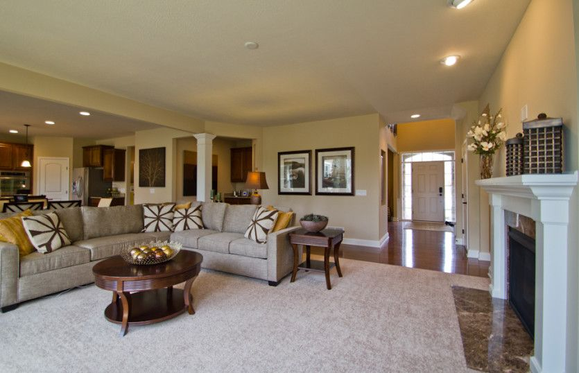 Greatroom-and-Dining-in-Knottingham-at-Hawthorn of Aurora-in-Aurora