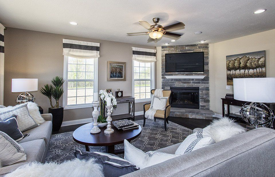 Living Area featured in the Dresden By Pulte Homes in Akron, OH
