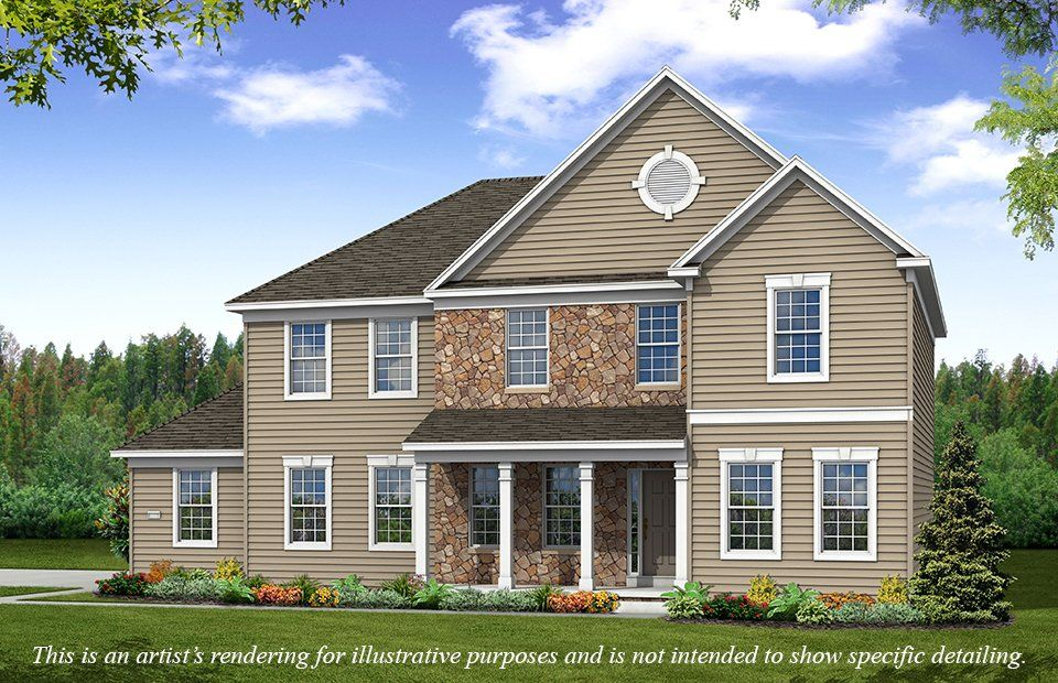 Exterior featured in the Crawford By Pulte Homes in Akron, OH