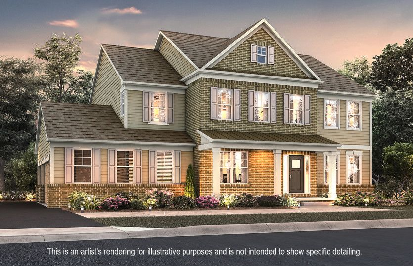 Exterior featured in the Atwater By Pulte Homes in Akron, OH