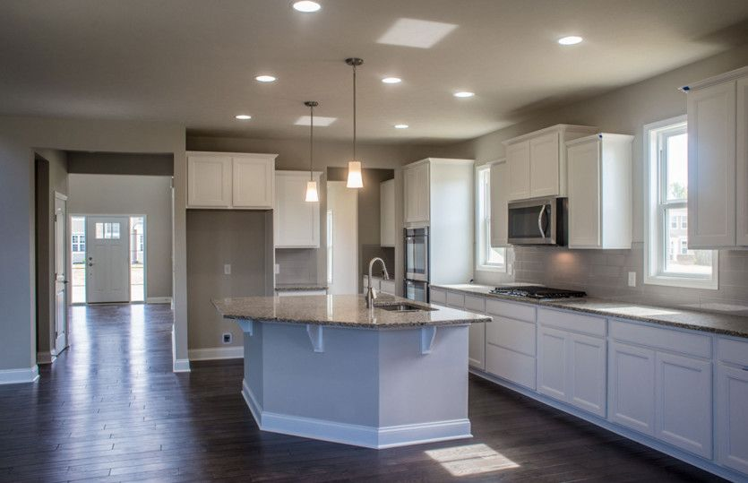 Kitchen featured in the Kirkland By Pulte Homes in Akron, OH