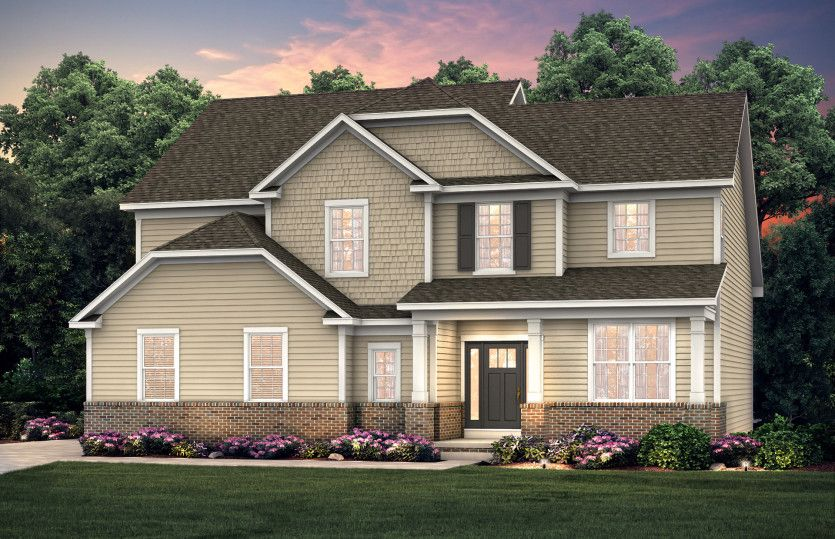 Exterior featured in the Maple Valley By Pulte Homes in Akron, OH