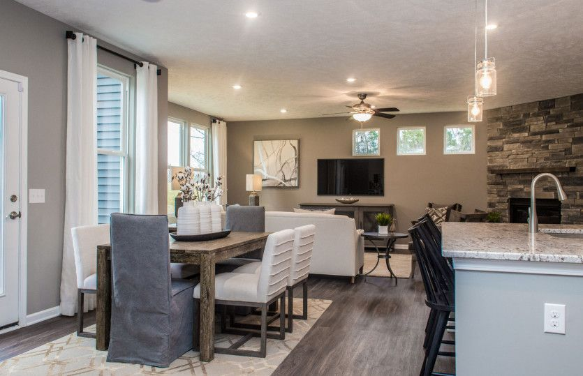 Living Area featured in the Mercer By Pulte Homes in Akron, OH
