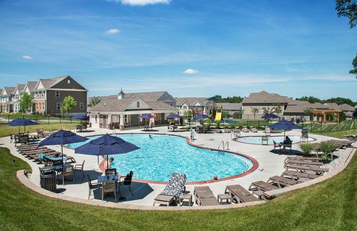 Beautiful onsite amenities