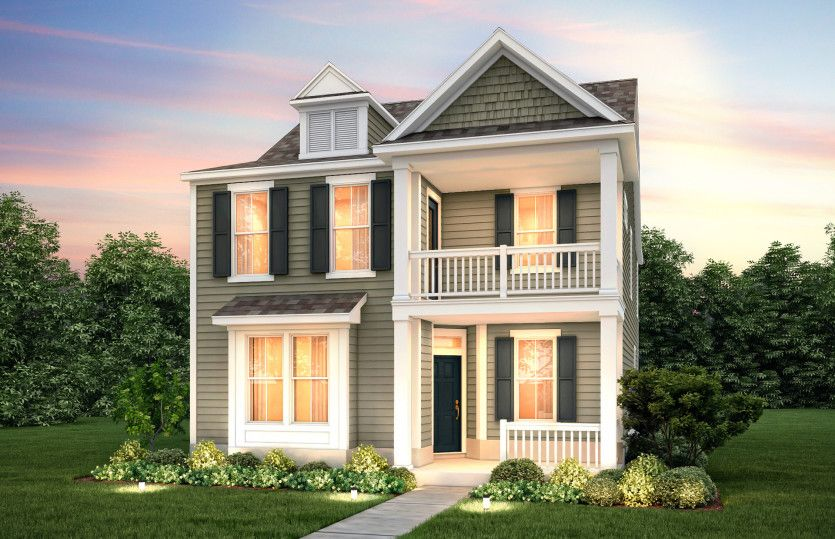 Exterior featured in the Magnolia By Pulte Homes in Charleston, SC