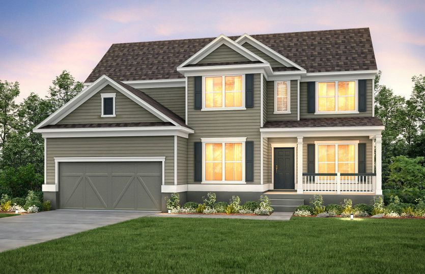 Exterior featured in the Vanderbilt By Pulte Homes in Charleston, SC