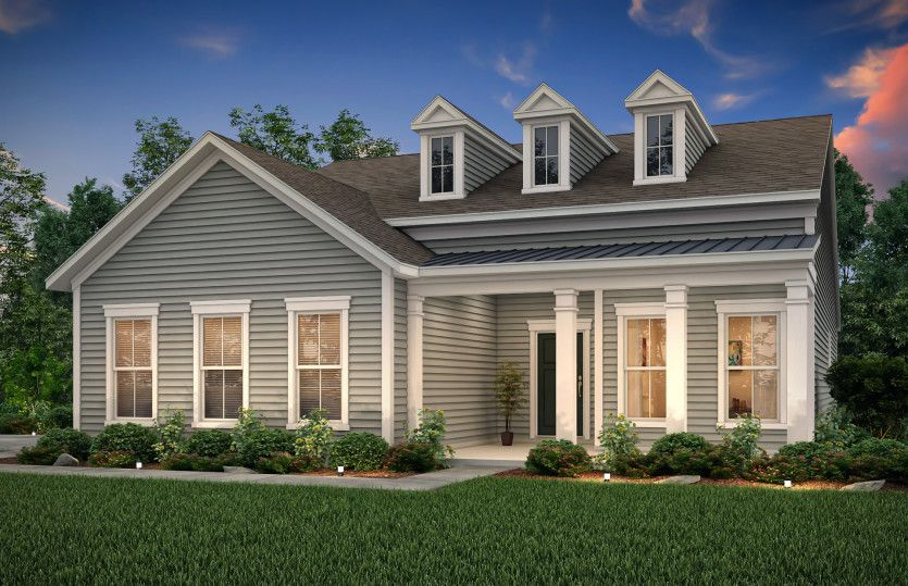 Exterior featured in the Martin Ray By Pulte Homes in Savannah, GA