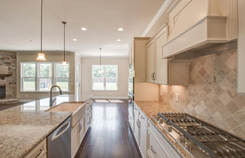 Kitchen featured in the Bridgestone By Pulte Homes in Charlotte, SC