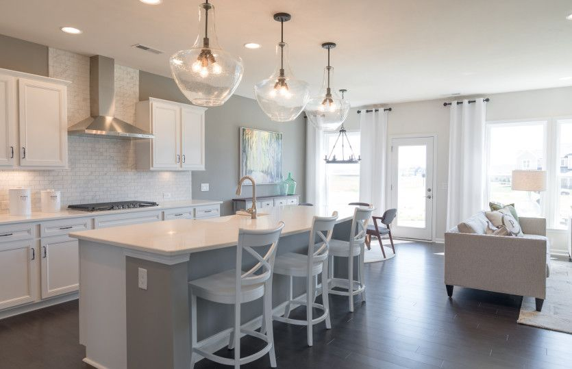 Kitchen featured in the Riverview By Pulte Homes in Charlotte, NC