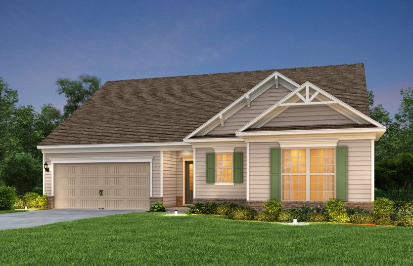 Exterior featured in the Bridgestone By Pulte Homes in Charlotte, SC