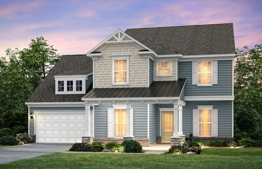 Exterior featured in the Northridge By Pulte Homes in Charlotte, SC