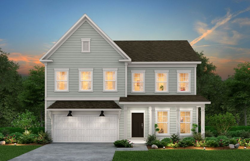 Exterior featured in the Stonebrook By Pulte Homes in Wilmington, NC