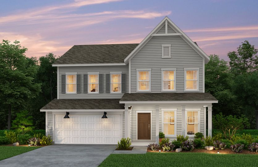 Exterior featured in the Continental By Pulte Homes in Wilmington, NC