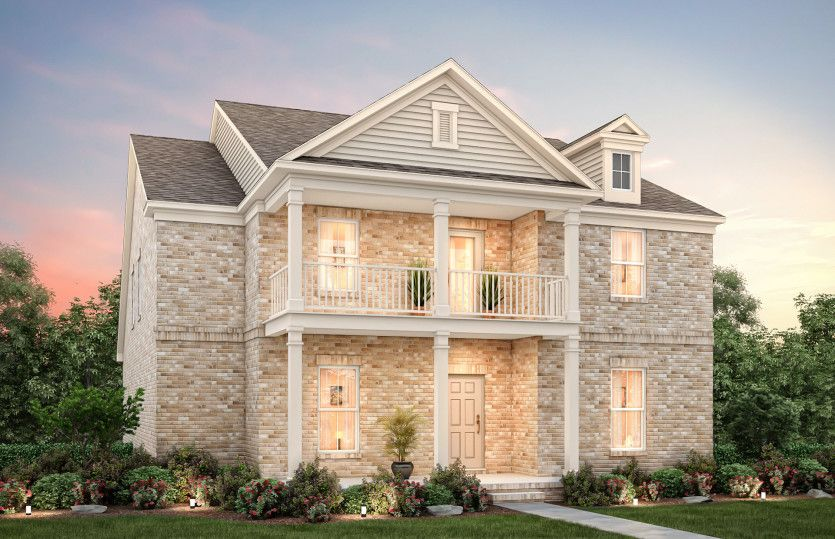 Exterior featured in the Summerfield By Pulte Homes in Nashville, TN