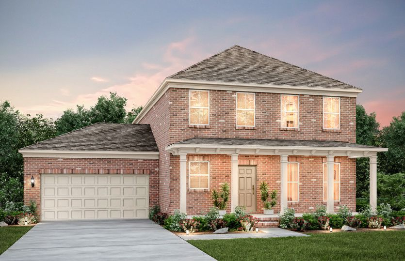 Exterior featured in the Foxfield By Pulte Homes in Nashville, TN