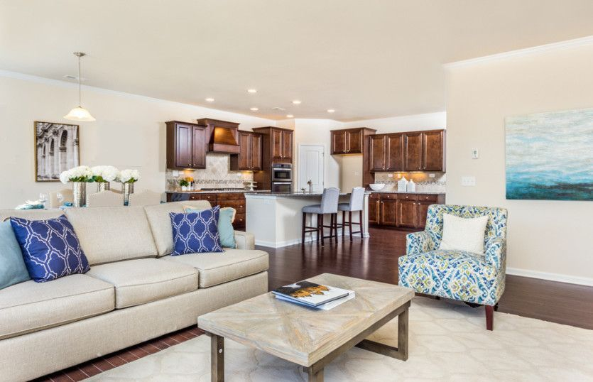 Living Area featured in the Foxfield By Pulte Homes in Nashville, TN