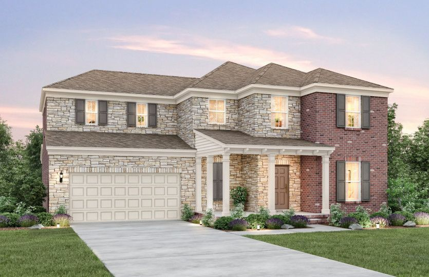 Exterior featured in the Waterstone By Pulte Homes in Nashville, TN