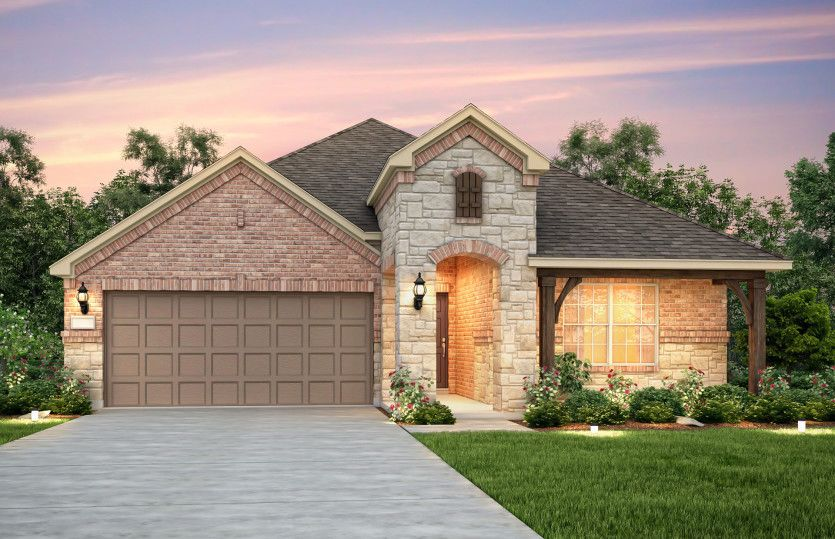 Exterior featured in the Arlington By Pulte Homes in Austin, TX