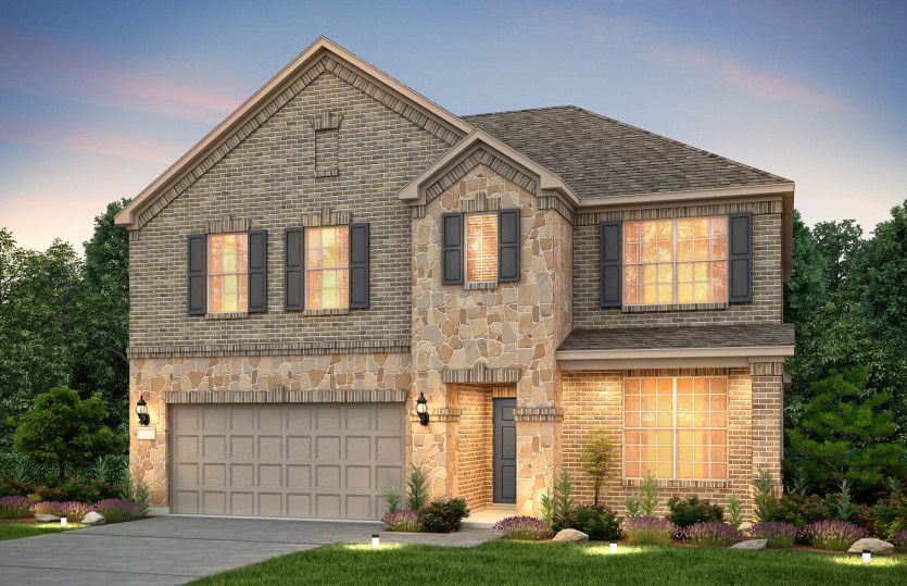 Exterior featured in the Caldwell By Pulte Homes in Austin, TX