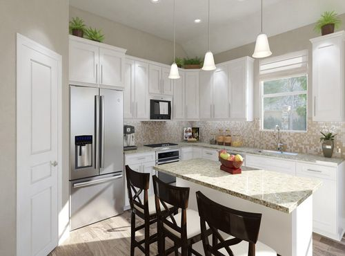 Kitchen-in-Calais-at-Carmel Creek-in-Hutto