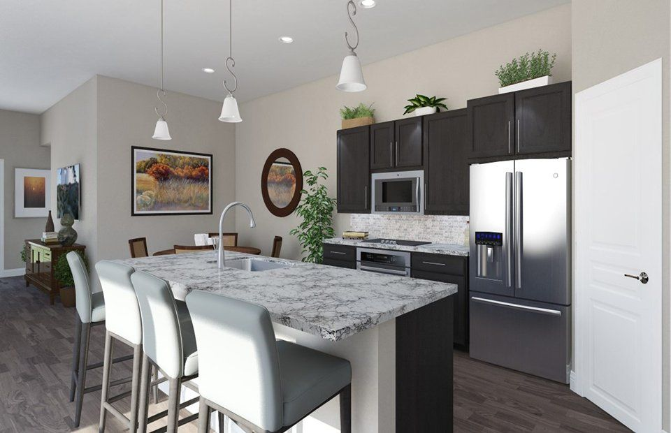 Kitchen-in-Orleans-at-Carmel Creek-in-Hutto